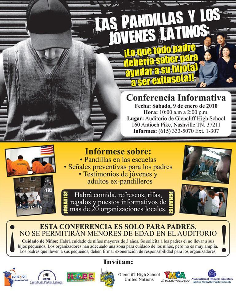 COPLA presenta foro para educar sobre las pandillas
